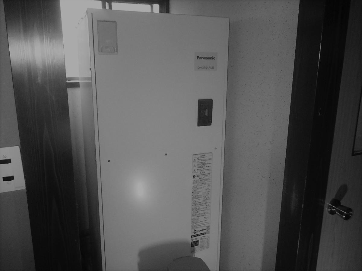 電気温水器の現場調査へ!